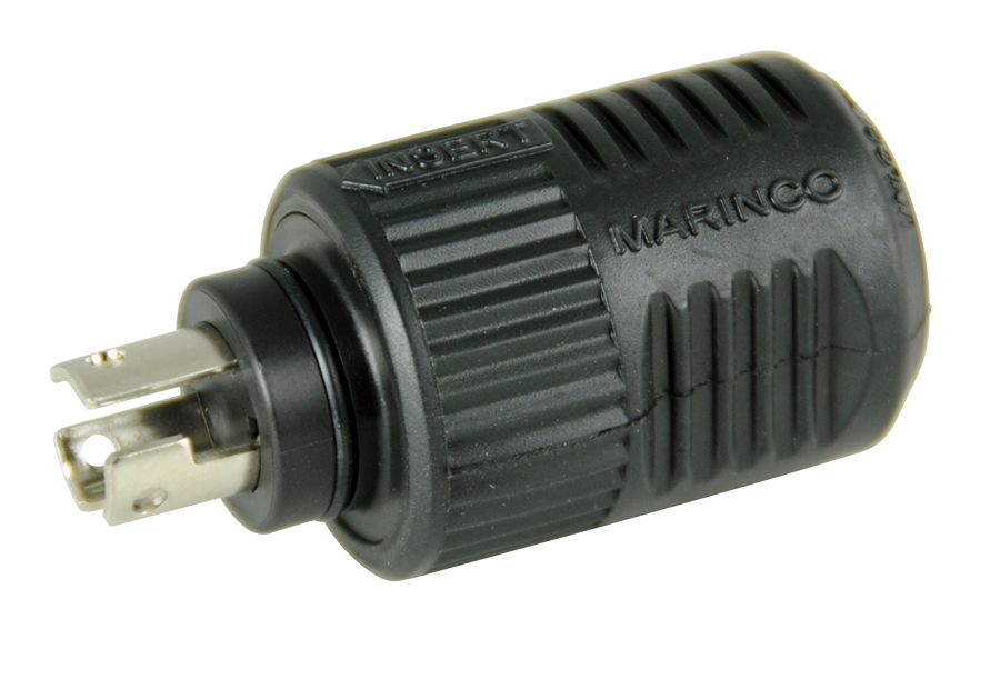 marinco trolling motor plug and socket for 12 24 and 36