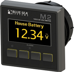 Blue Sea 1833  Digital DC Voltmeter with OLED display