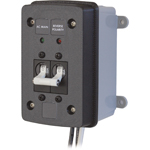 Blue Sea 3131 Surface Mount Enclosure for two Circuit Breakers