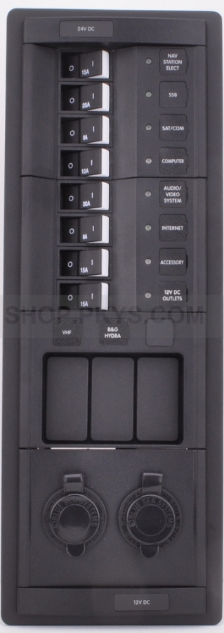 Sub panel for Amel 54 - this panel is for both 12 and 24 volt DC