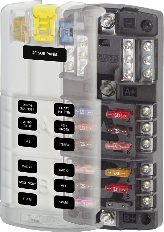 Fuse Blocks Loaded With Fuses Protect The Wire In Electrical Circuits