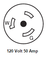 50 Amp 120 Volt Shore Power