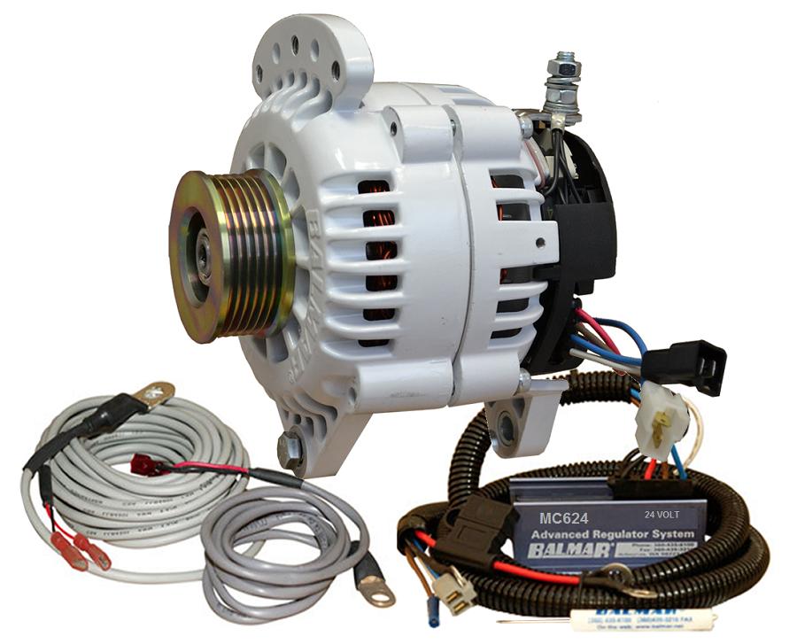 Voltage Regulator 24 : Balmar yp k alternator and regulator kit