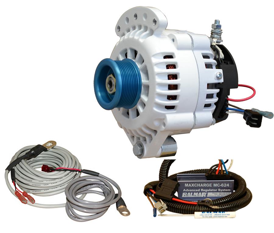 Voltage Regulator 24 : Balmar vup j alternator and regulator kit