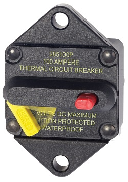Bussmann 285-Series Panel Mount Circuit Breaker