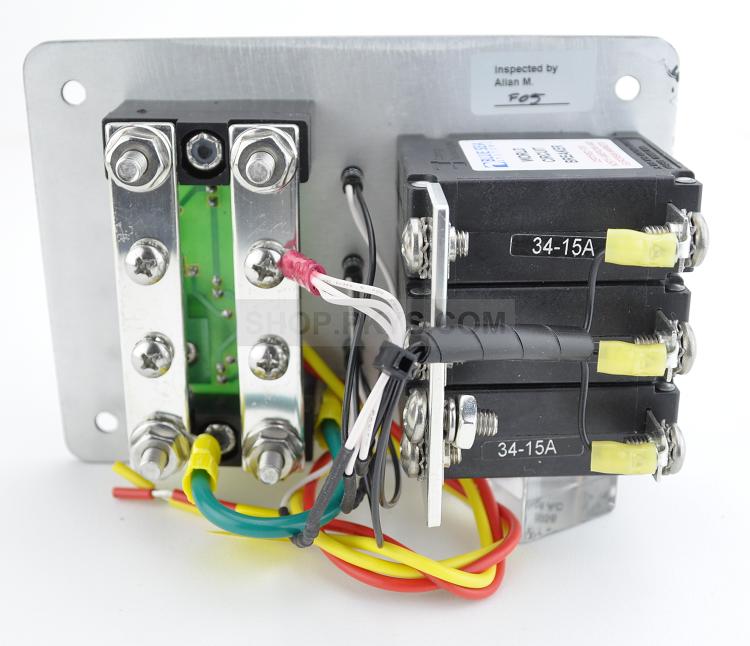 blue sea systems 8058 panel 120vac 3 circuit breaker