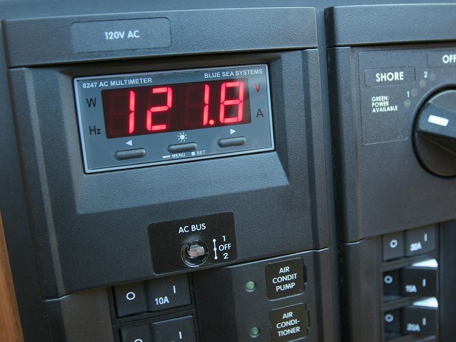 Blue Sea Systems 8247 Panel Mount Digital Ac Multimeter