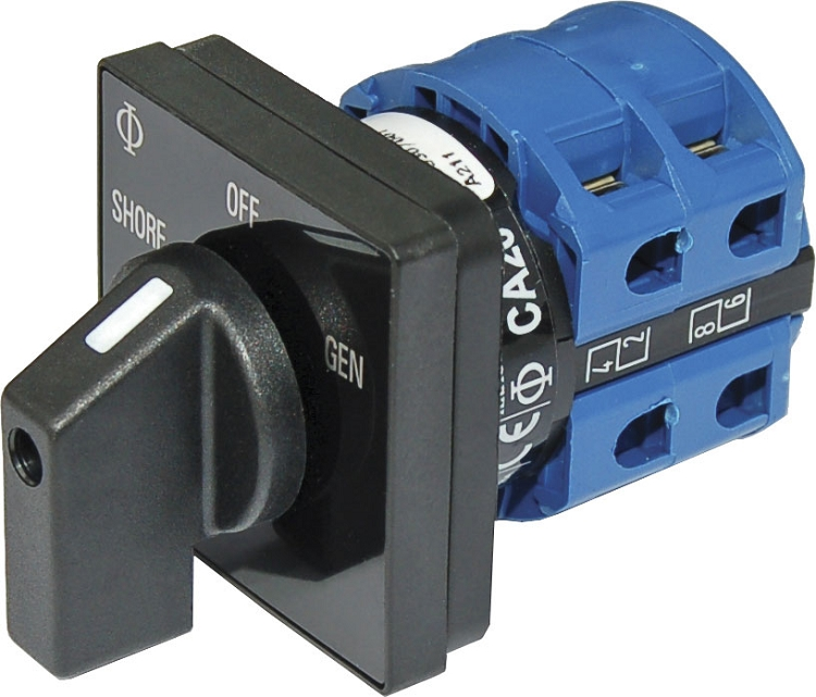 Blue Sea Systems 9009 Ac Selector Switch Ac 120vac 32a Off 2