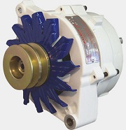 A typical large case alternator