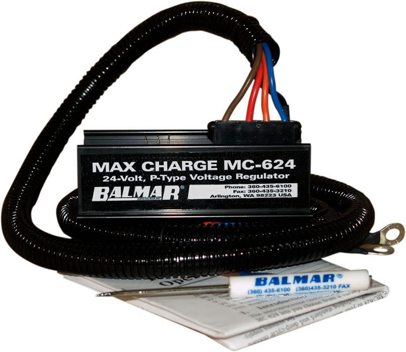 Voltage Regulator 24 : Balmar mc regulator volts
