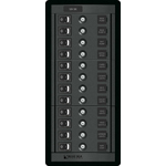 Blue Sea 1461 Modular 360-Series DC Panel 12 pos Switch CLB V