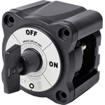 Blue Sea 6005200 Black ON-OFF Battery Switch with Key
