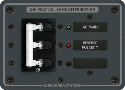 Blue Sea Systems 7372 Panel 120 240vac Main