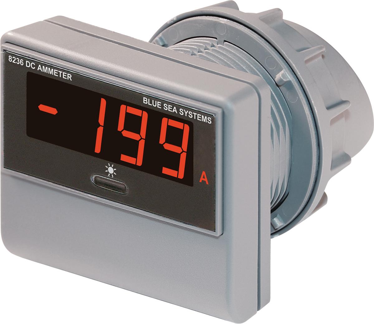 Digital Dc Meter : Blue sea systems meter digital dc amperage