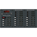 Blue Sea 8379 DC Panel 21 Position with Digital Multimeter
