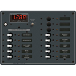 Blue Sea 8403 DC Panel 13 pos with Multimeter