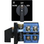 Blue Sea 9011 AC Selector AC Selector Switch,  120V 63A OFF +2