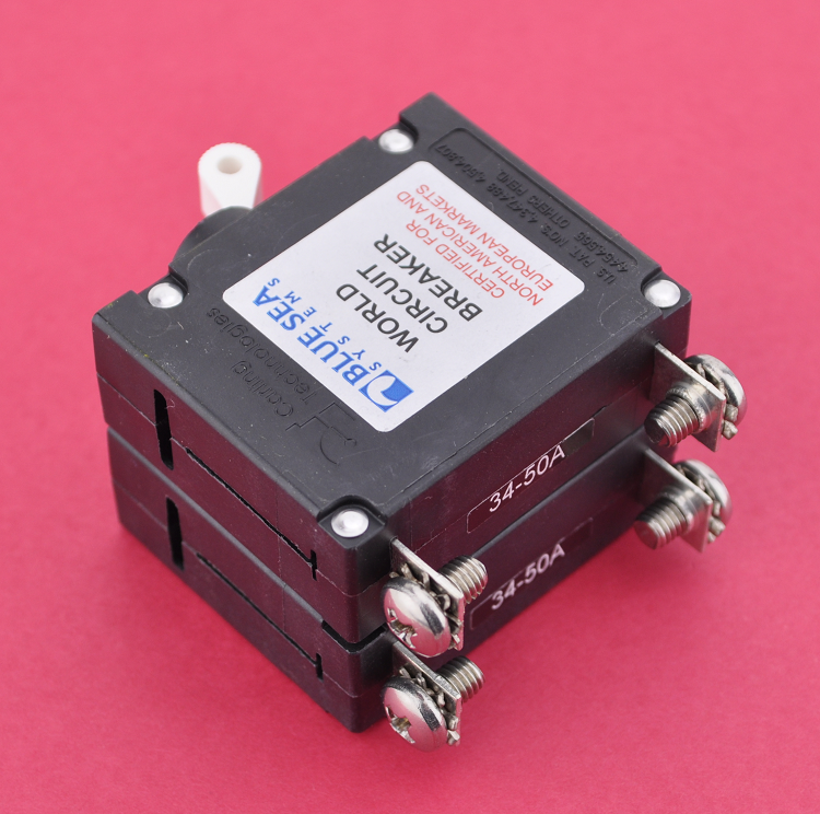 Blue Sea Systems 7233 Double Pole Circuit Breaker 10 Amps