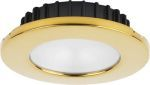 ILIM31324 Hatteras PowerLED*, 10-30VDC PVD Gold Finish, Red Lens