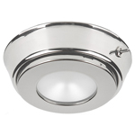 ILIM31621 Hatteras Power LED w/Base & Switch, 10-30VDC Stainless Finish, Red Lens