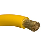 Marine Tinned Battery Cable 2 awg Yellow - Per Foot