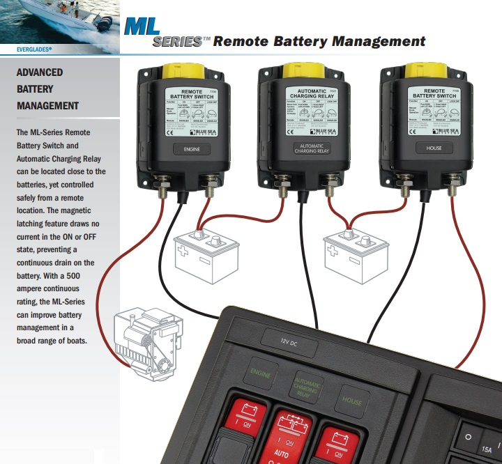 Remote battery management