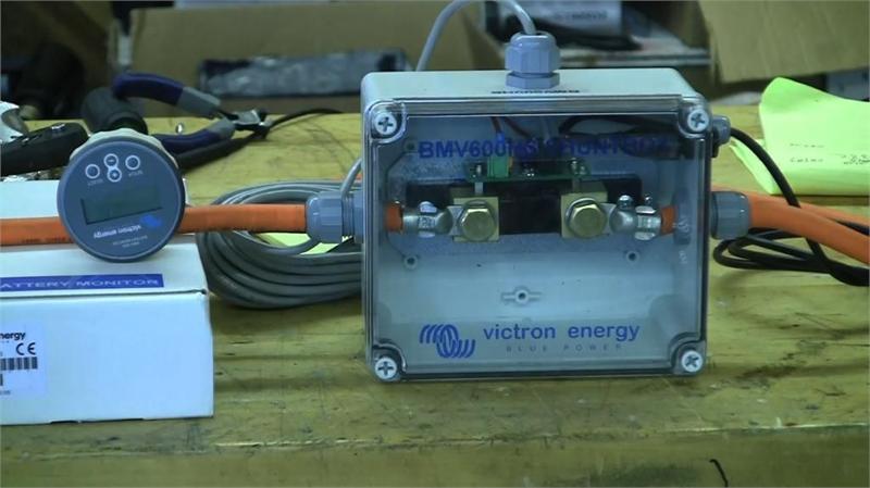 Victron Energy Bmv 600hs High Voltage Precision Battery
