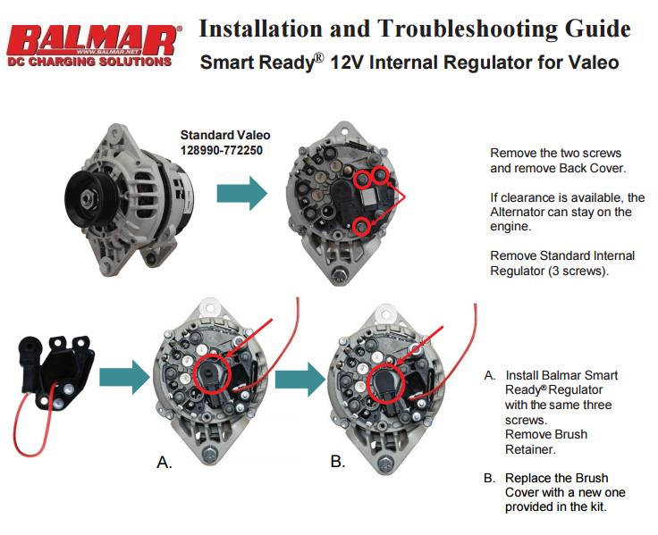 Valeo balmar mc 614 vl 01 external regulator conversion kit with mc 614 balmar mc-614 wiring diagram at pacquiaovsvargaslive.co