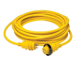 Marinco 25 ft PowerCord Plus marine cordset 30 Amps 125 Volts