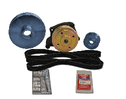 Balmar 48-PSP-410-A Serpentine Pulley Conversion Kit for Perkins 4107, 4108