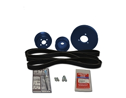 Balmar Serpentine Pulley Conversion Kit for Universal marine diesel model  M35