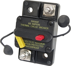 Blue Sea 7184 Surface Mount 285-Series Circuit Breaker 60 Amps