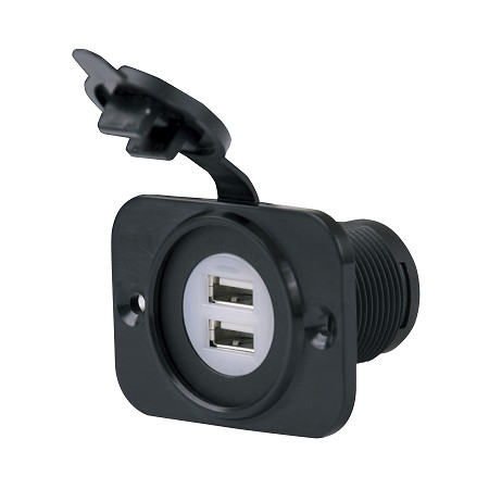 Marinco SeaLink Dual USB Charger Receptacle