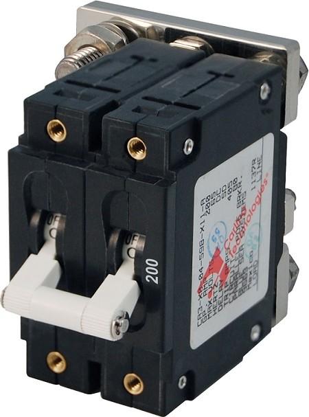 Blue Sea Systems 7269 Triple Pole Circuit Breaker 200a White