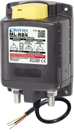 Blue Sea 7713 Remote Battery Switch with lock - 12 Volt