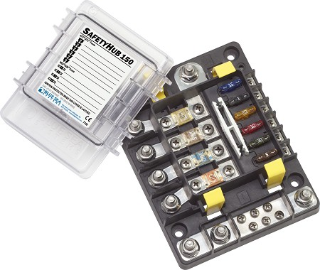 Blue Sea 7748 Safety Hub 150 Fuse Block