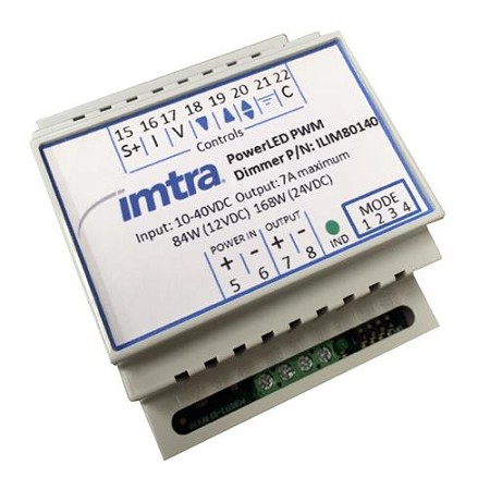Imtra ILIM80140 PowerLED Dimming Control Module, 1-Channel10-40VDC, 7A ,