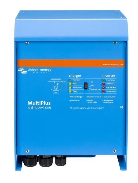 Victron Multi Plus 24/3000/70-50 120V VE Bus Inverter/Charger (PMP243021102)