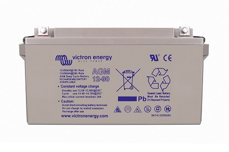 Victron Energy 12V/90Ah AGM Deep Cycle Battery