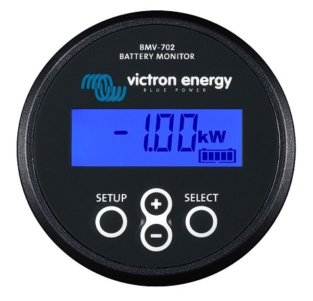 Victron Energy BMV 702 Precision Battery Monitor in Black