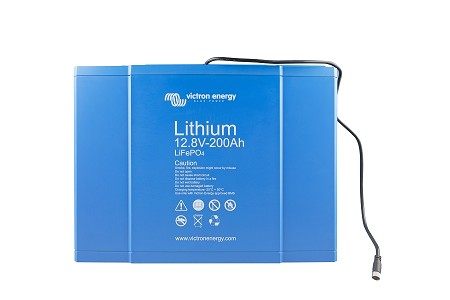 Victron Smart Lithium Iron Phosphate Battery 12.8 Volt 200 Ahr