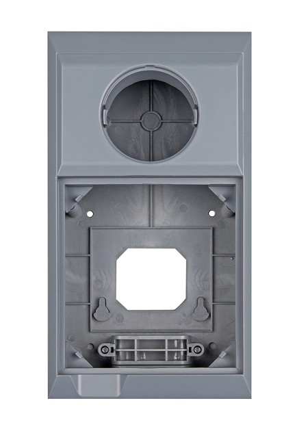 Wall mount enclosure for Color Control GX and BMV energy monitor