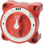 Blue Sea 11001 Battery Selector Switch 1-2-OFF (No Both position)