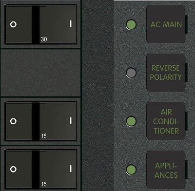 1214 AC main and distribution panel