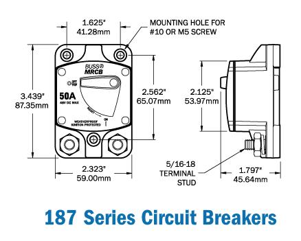25 amp breaker wiring diagram wiring diagram  25 amp breaker wiring diagram wiring diagramblue sea systems 7135 187 series dc circuit breaker surface