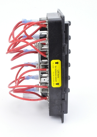 Blue Sea Systems 4306 Weatherdeck Fused Switch Panel 12