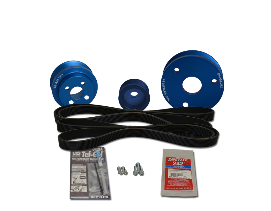 Balmar 48-VSP-MD-A Pulley Kit  for Volvo MD2030