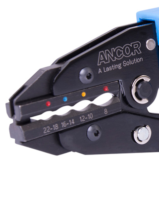 Ancor Single Crimp Ratchet Crimpers Tool for Heatshrink and Insulated Connectors