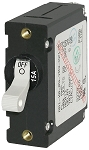 Blue Sea 7210 Single Pole Circuit Breaker 15 Amps White