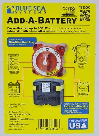 Blue Sea Systems 7650 Add A Battery